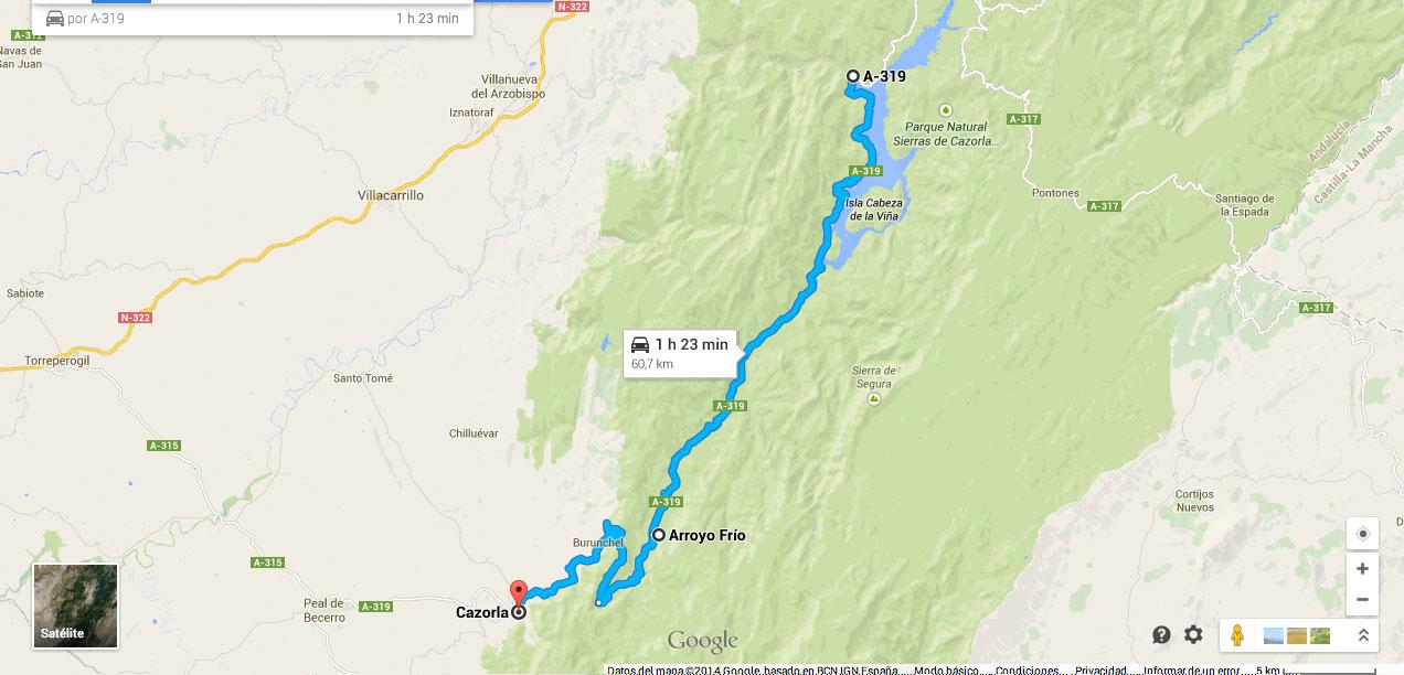 Ruta En Moto Por El Pantano Del Tranco