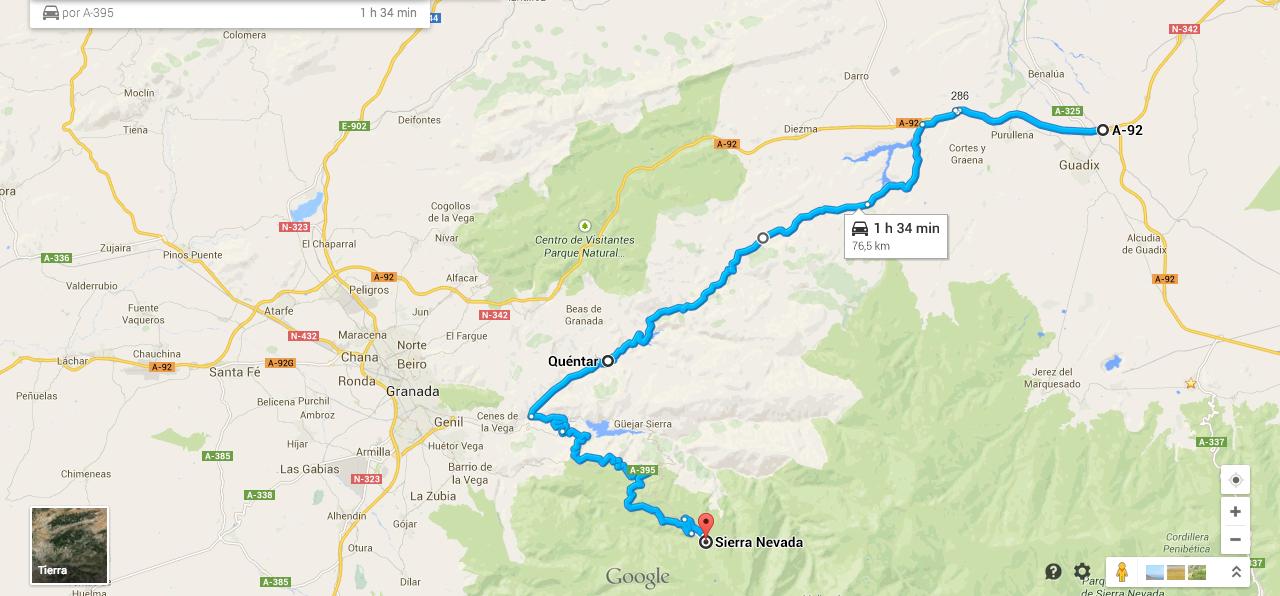 Ruta En Moto Por Sierra Nevada