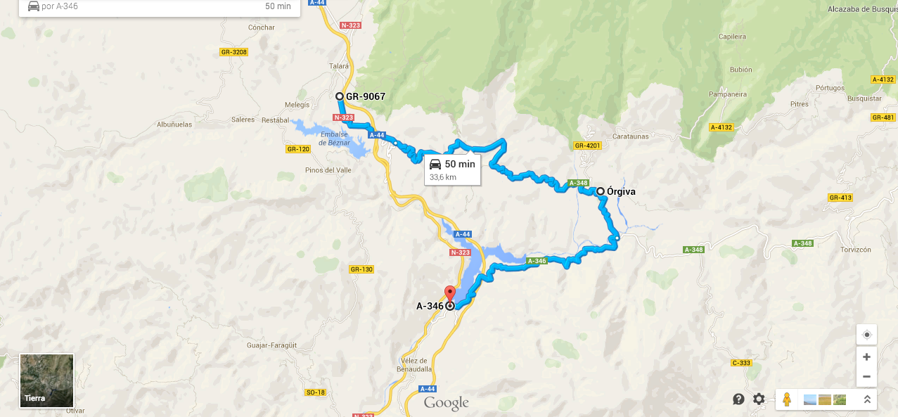 Ruta En Moto Por La Alpujarra