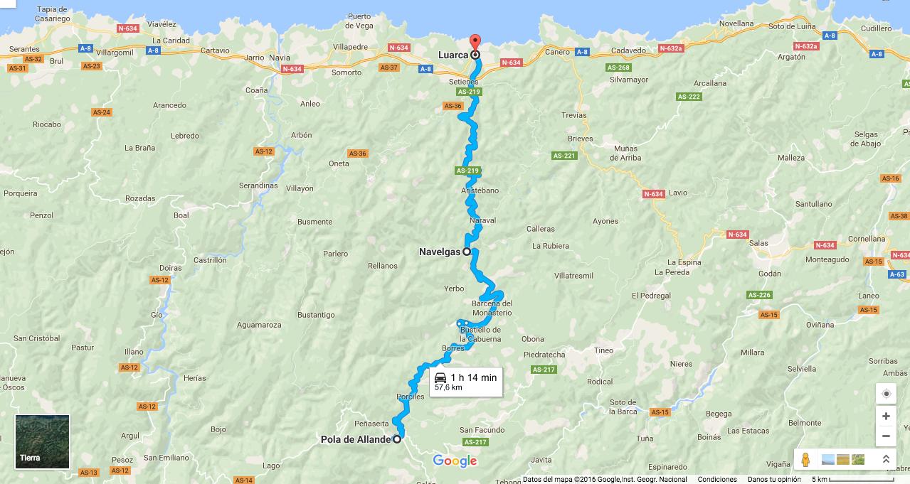 Ruta En Moto De Pola De Allande A Luarca