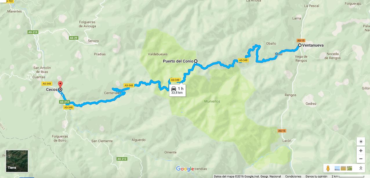 Ruta En Moto Por Asturias Puerto Del Connio