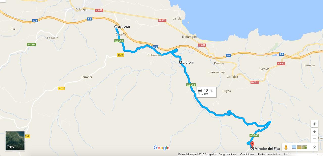 Ruta En Moto Por Asturias. El Mirador De Fitu