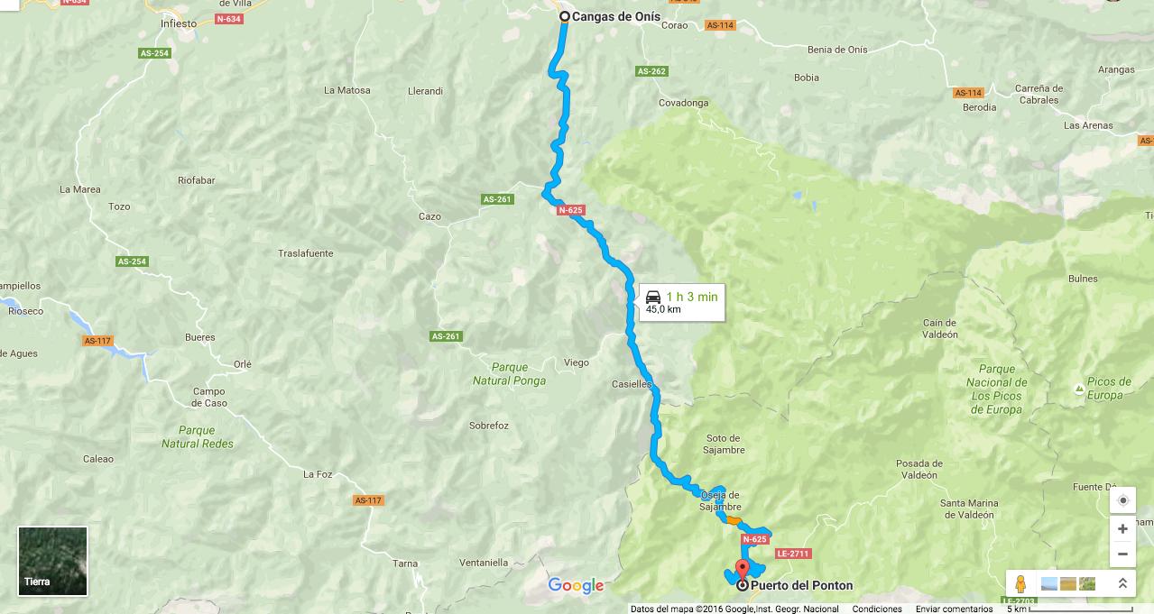 Ruta En Moto Por Asturias Desfiladero De Los Beyos Y Puerto Del Ponton